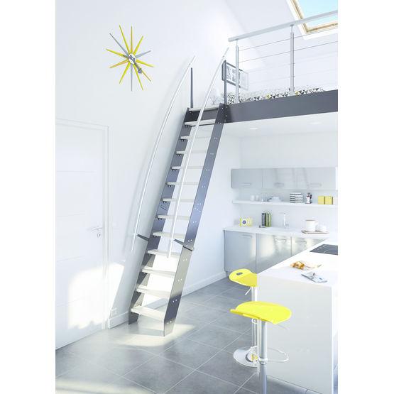 monte escalier faible encombrement