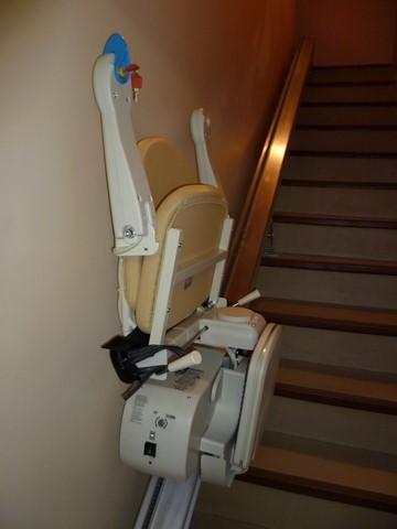 monte escalier financement