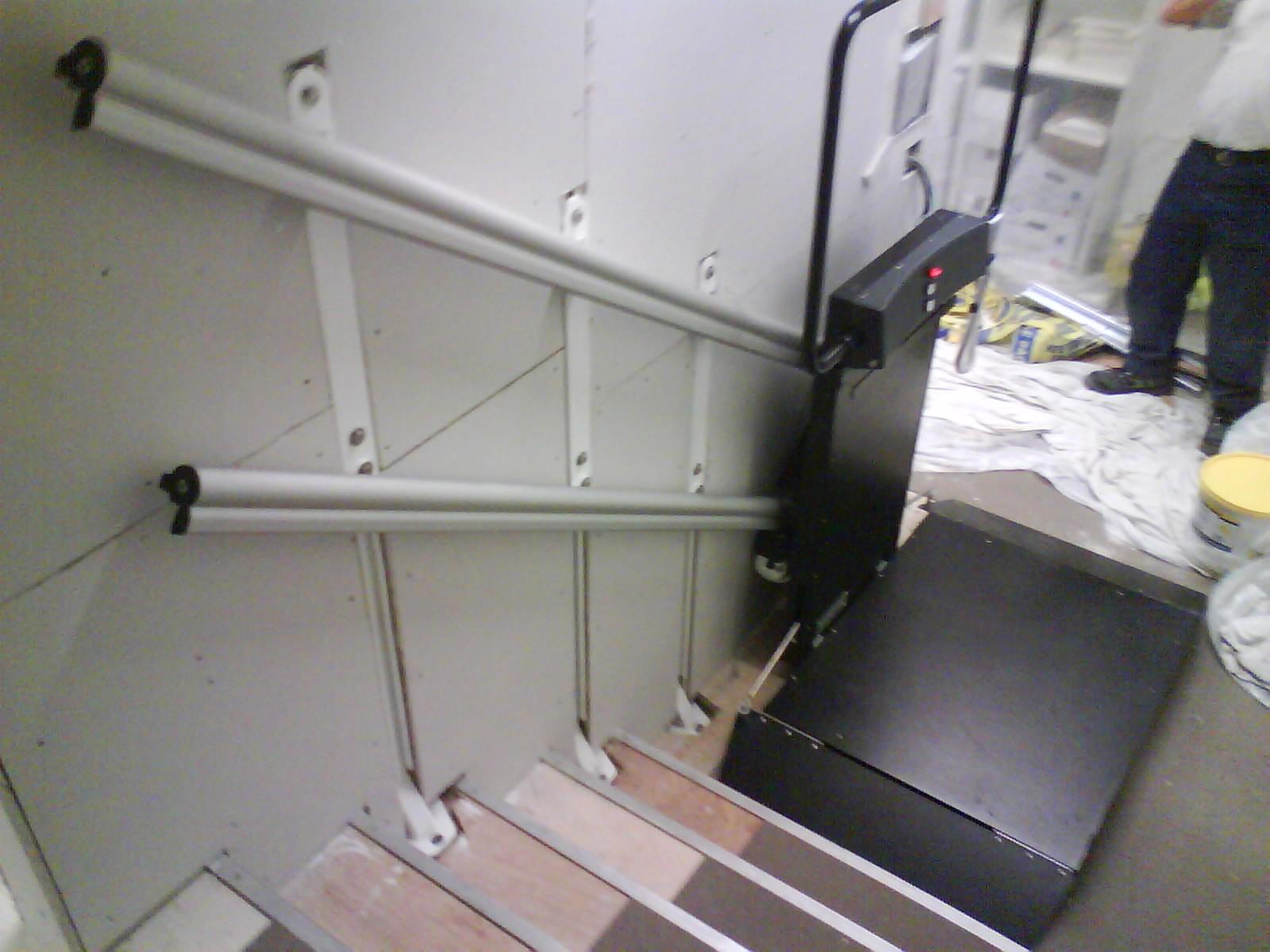 monte escalier ganser