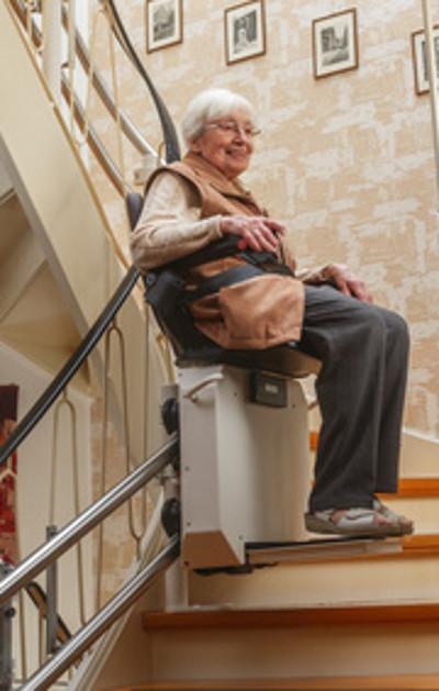 monte escalier gers