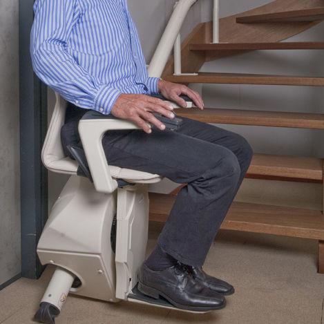 monte escalier handicare van gogh