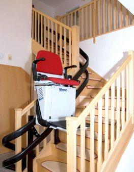monte escalier haute normandie