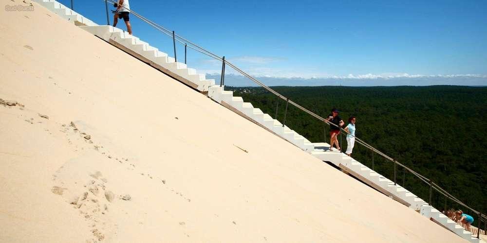 monte escalier horizon