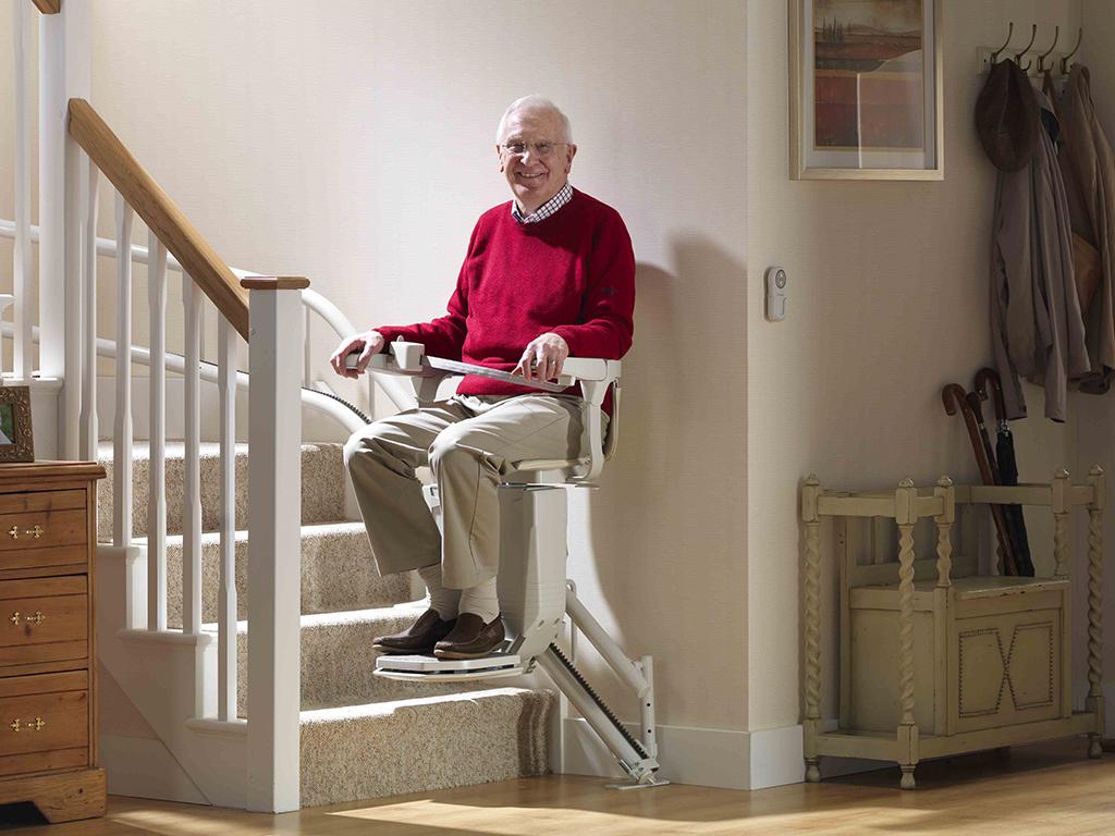 monte escalier liege