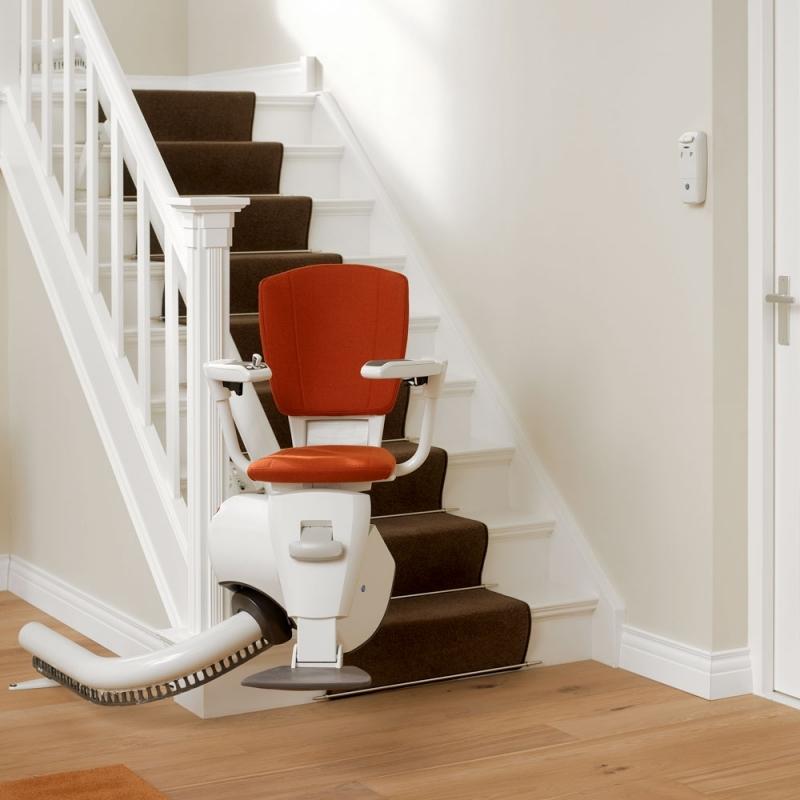 monte escalier maison