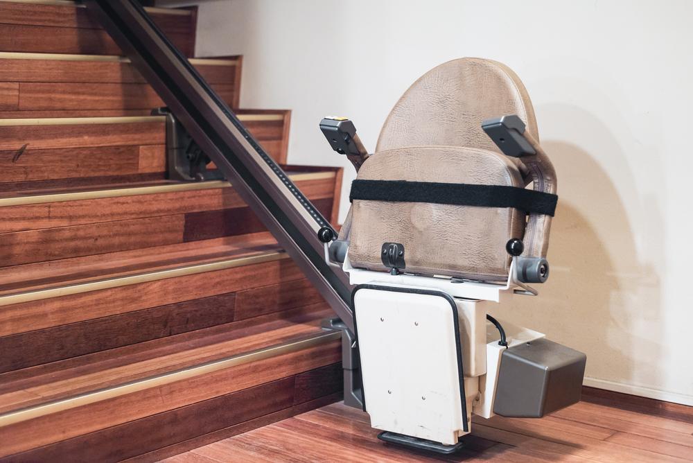 monte escalier mobile