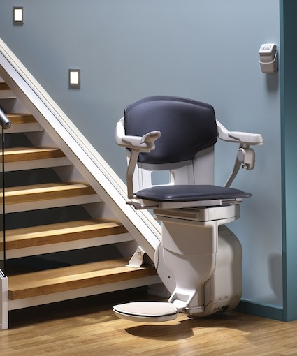 monte escalier obese