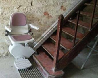monte escalier occasion particulier