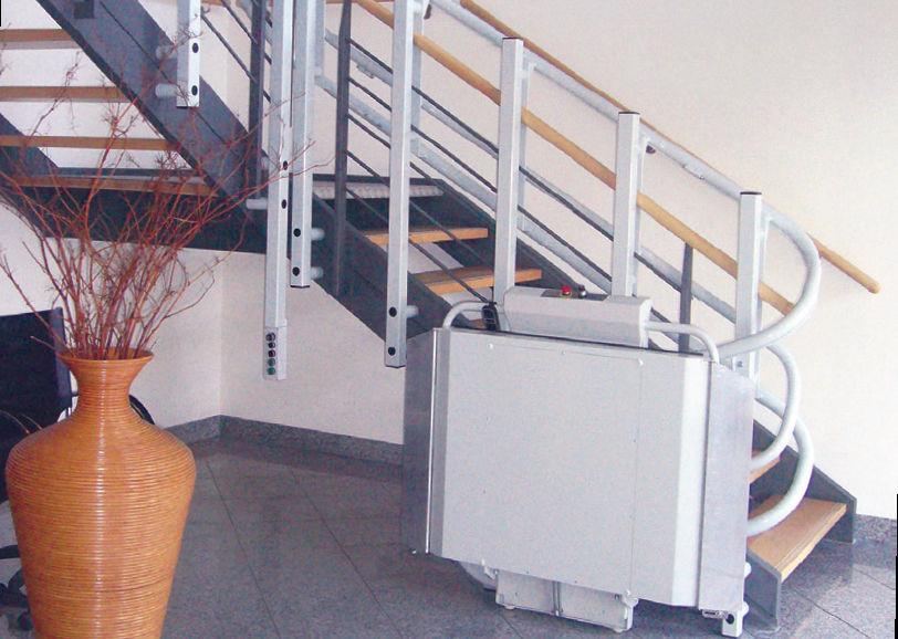 monte escalier omega