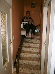 monte escalier perpignan