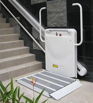 monte escalier pour handicapes