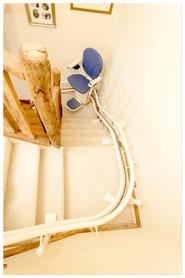monte escalier puy de dome