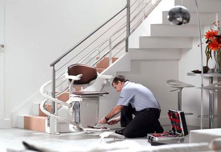 monte escalier revente