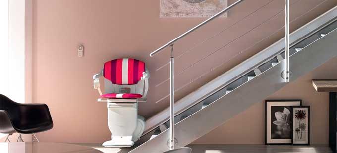 monte escalier rouen