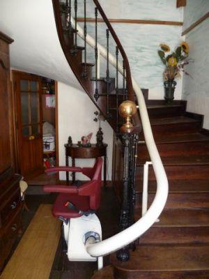 monte escalier royan