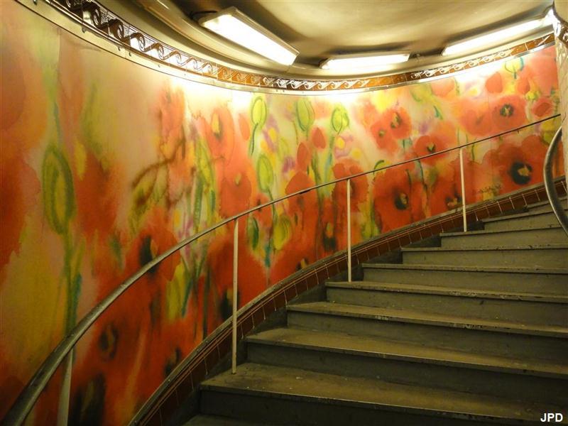 monte escalier saint laurent sur sevre