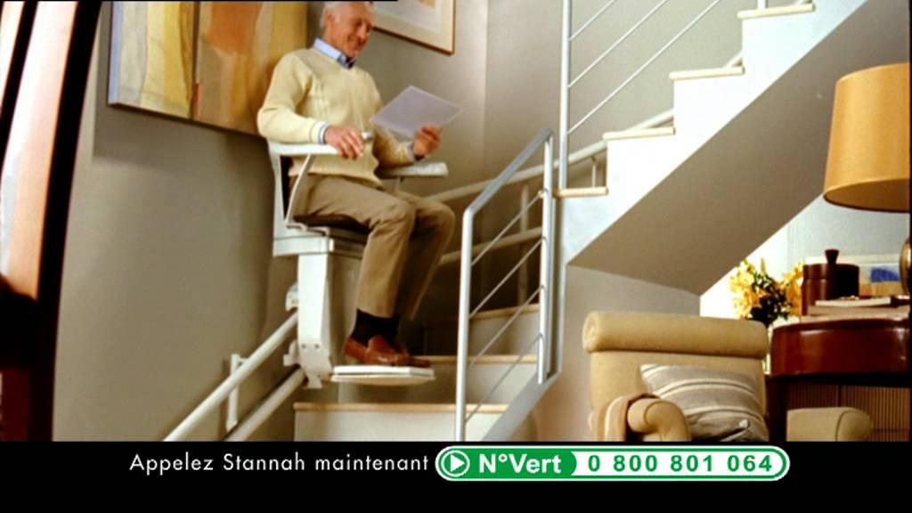 monte escalier stannah pub