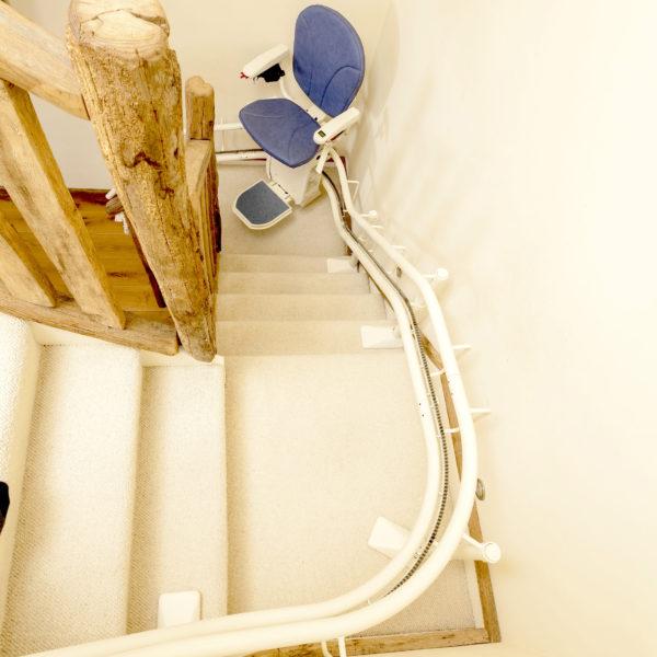 monte escalier strasbourg