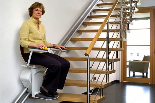 monte escalier subvention