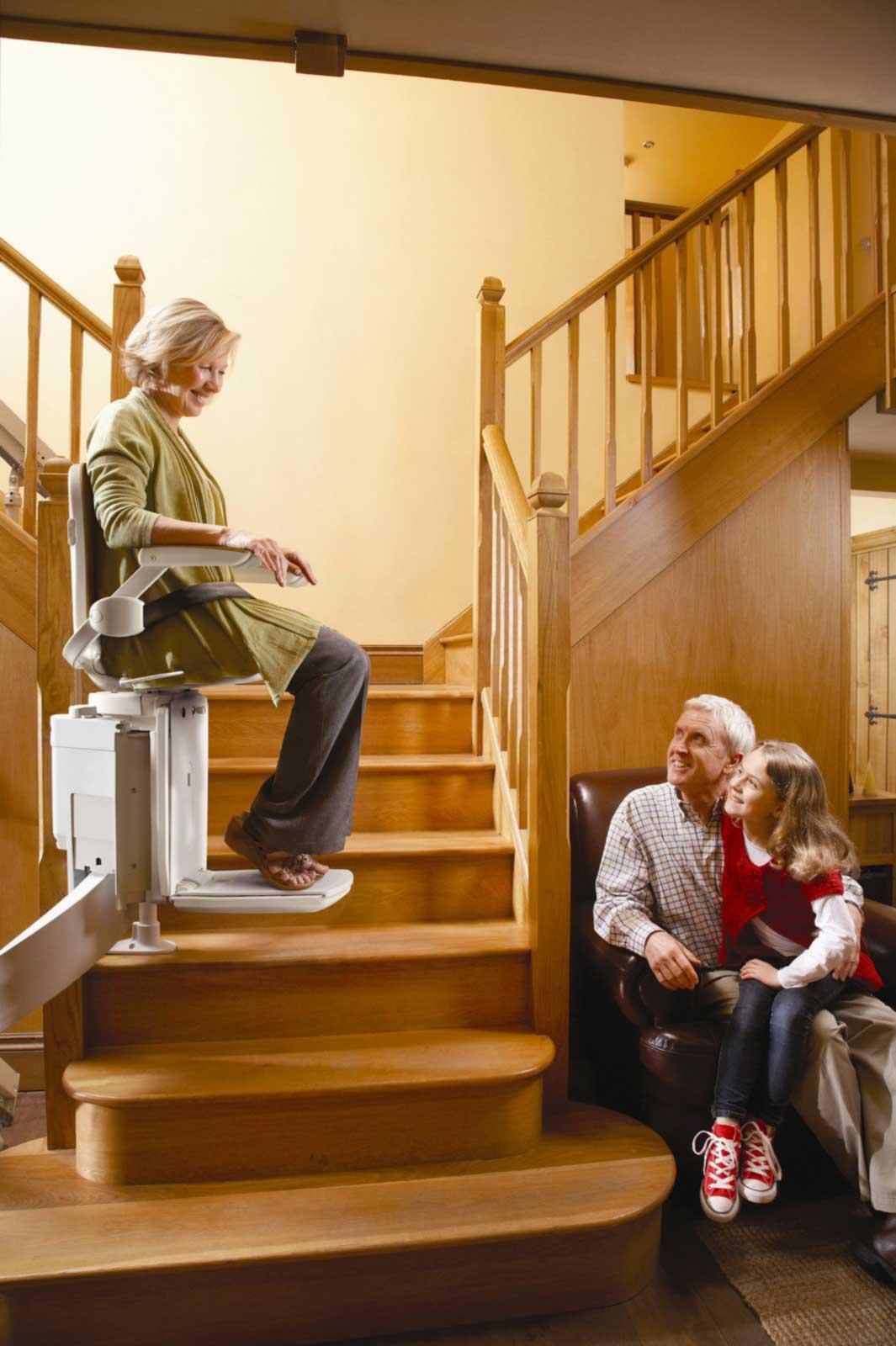 monte escalier temporaire