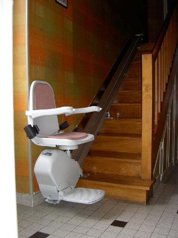 monte escalier usage