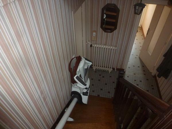 monte escalier vendee