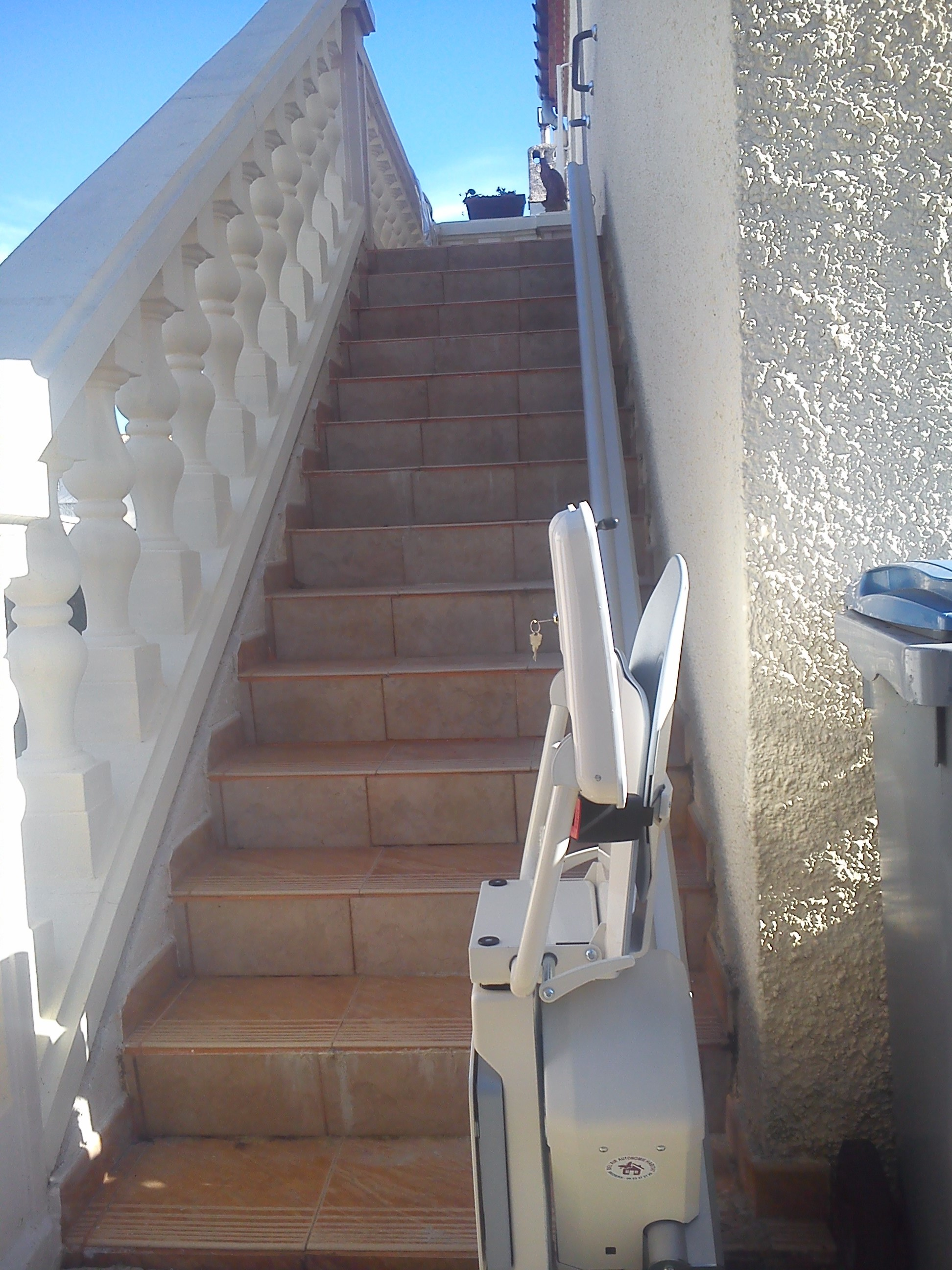 monte escalier vendre